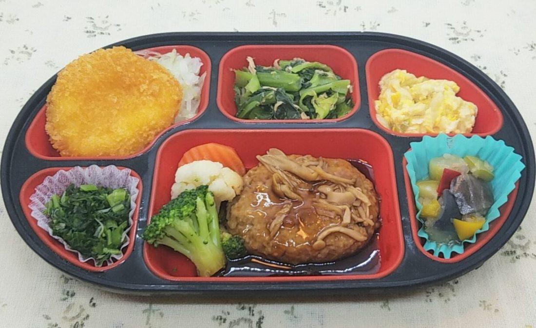 コープデリの宅配弁当(夕食宅配)「舞菜おかず」