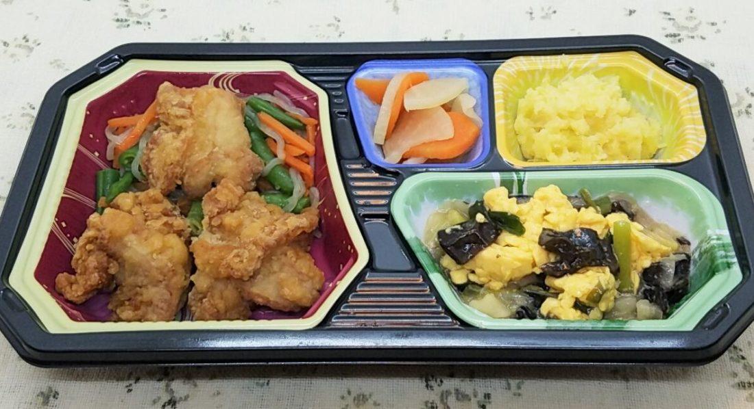 ワタミの宅食・いきいき珠彩「鶏の唐揚げと玉子ときくらげの中華風」
