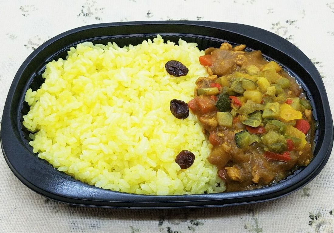 食宅便のメニュー・野菜たっぷり彩菜カレー