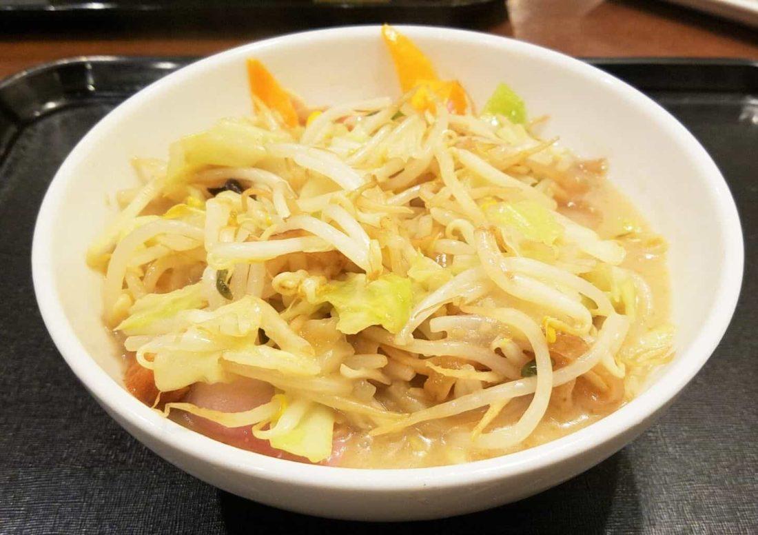 リンガーハット・野菜たっぷり食べるスープ・混ぜた状態