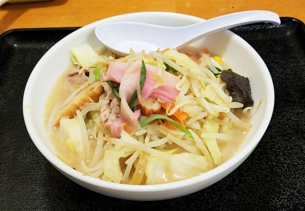 リンガーハットのダイエット最適メニュー・野菜たっぷり食べるスープ