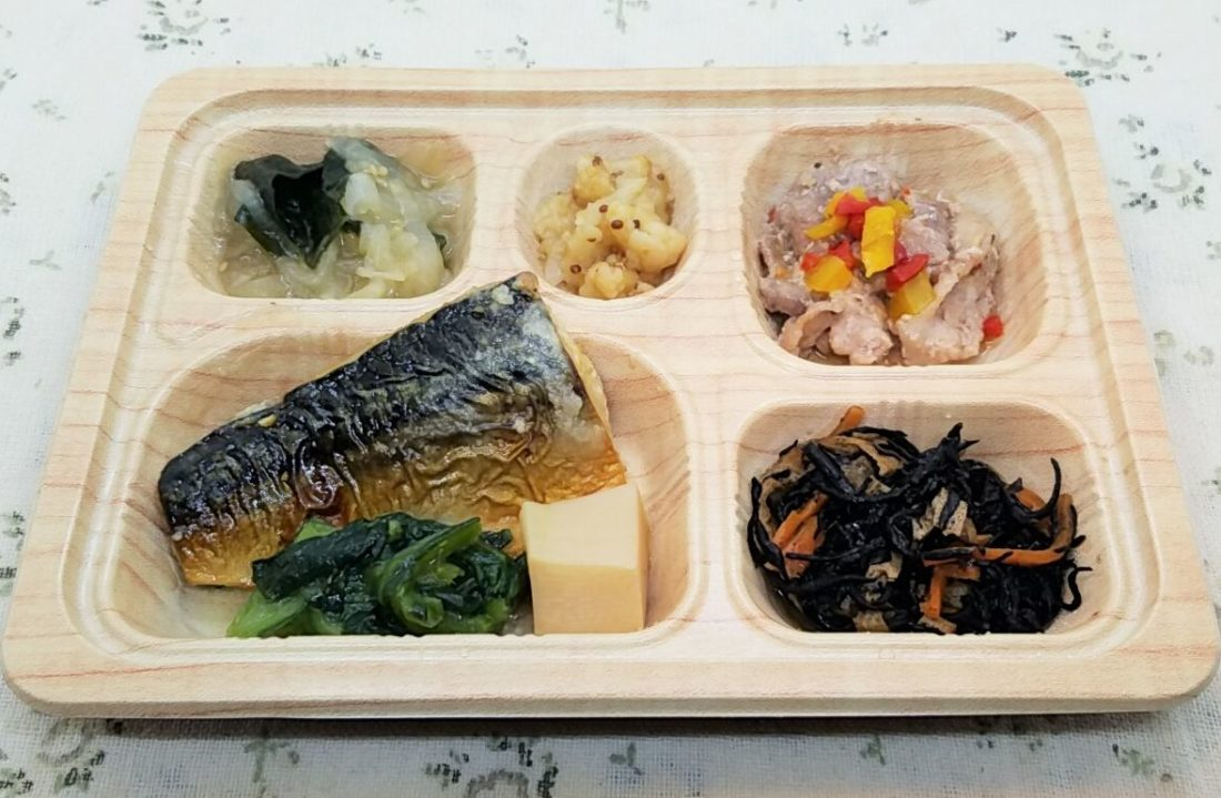 食卓便の低糖質セレクト・鯖サバの塩麹焼きと豚肉のハーブ和