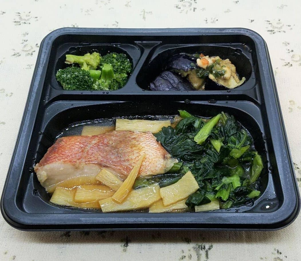 安い宅配弁当/冷凍弁当・イオン(トップバリュ)の冷凍弁当「赤魚の煮付け」