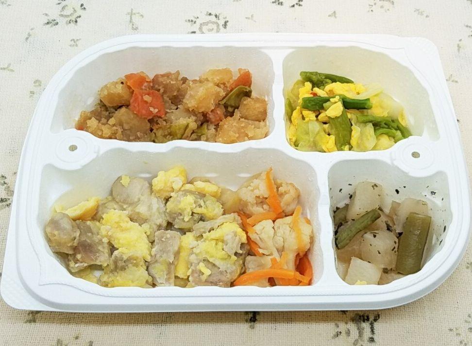 ウエルネスダイニング「厳選栄養バランス気配り宅配食」鶏肉のピカタ弁当