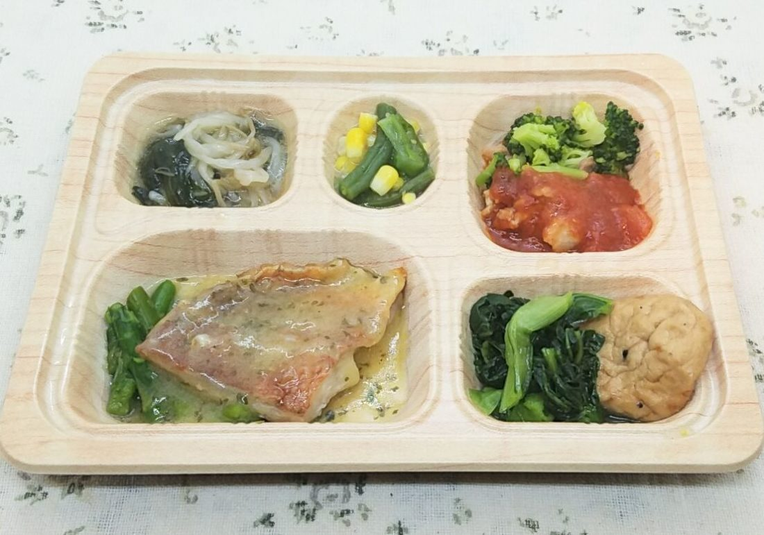 食宅便・低糖質セレクト・赤魚のソテーバター風味