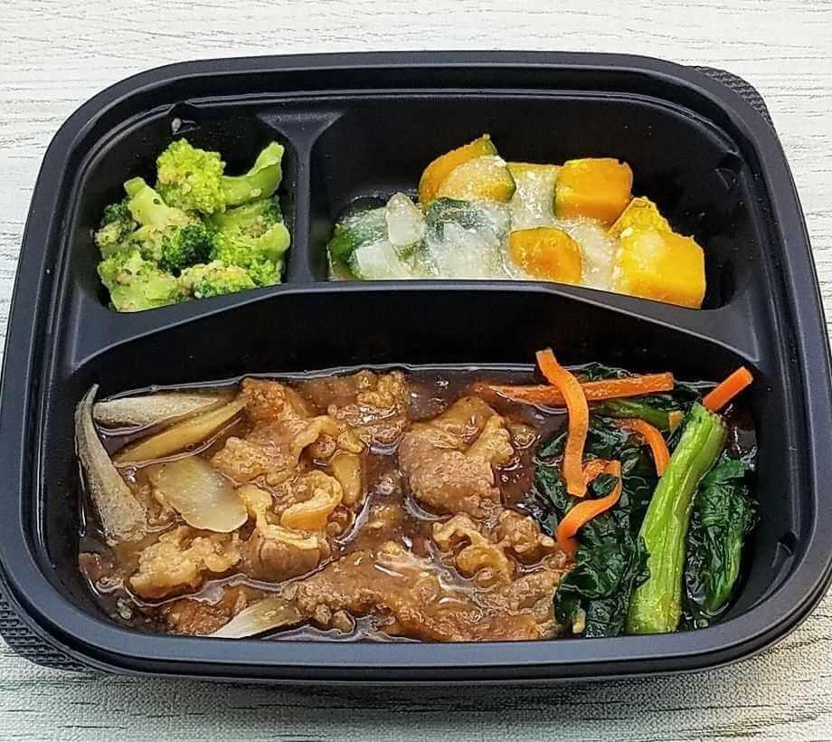 宅配弁当人気ランキング・4位イオントップバリュの冷凍弁当(2)