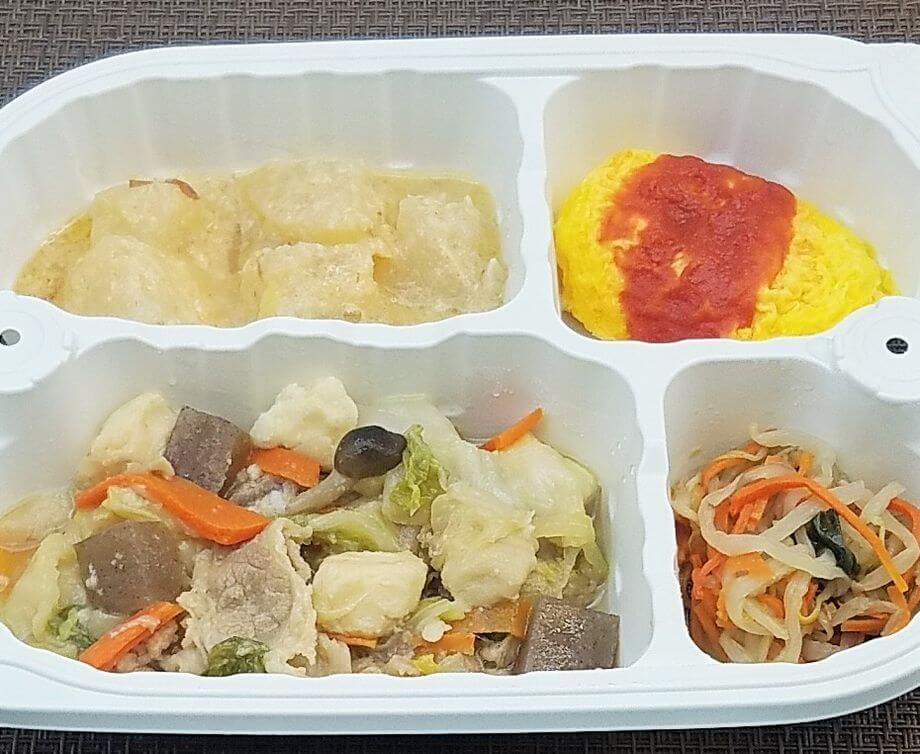 安い宅配弁当ランキング・2位「まごころケア食」肉豆腐弁当