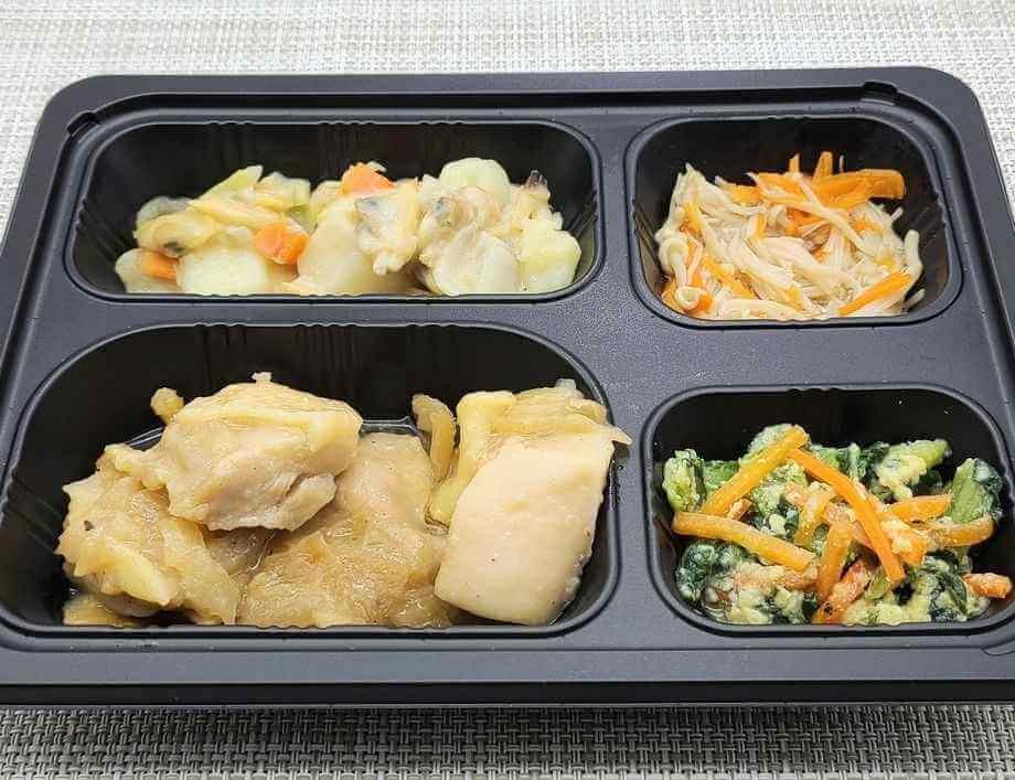 安い宅配弁当ランキング・2位「まごころケア食」鶏肉の山賊焼き