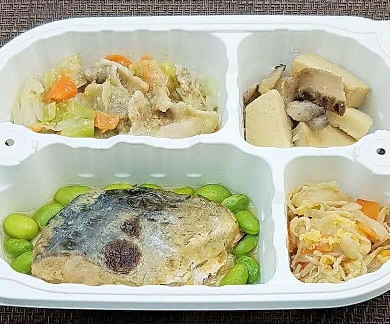 安い宅配弁当ランキング・2位「まごころケア食」さわらの幽庵焼き弁当