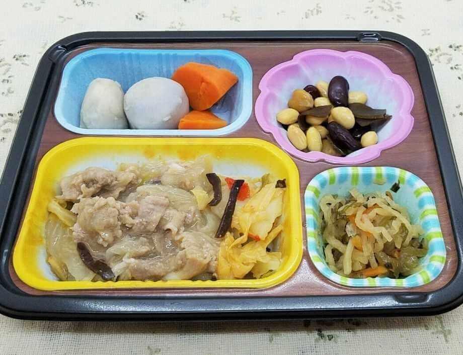 安い宅配弁当ランキング・3位ワタミの宅食「まごころ手鞠」(1)