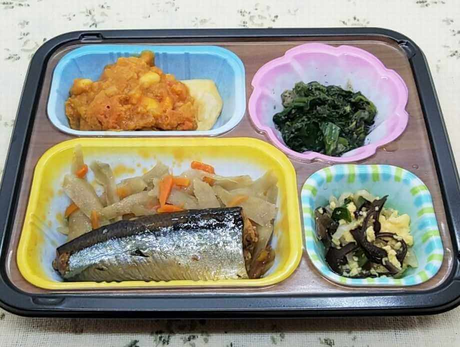 安い宅配弁当ランキング・3位ワタミの宅食・まごころ手鞠(3)