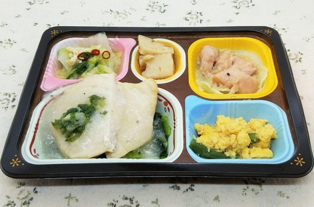 食宅便「カジキの葱塩だれと鶏肉のガーリック醤油」
