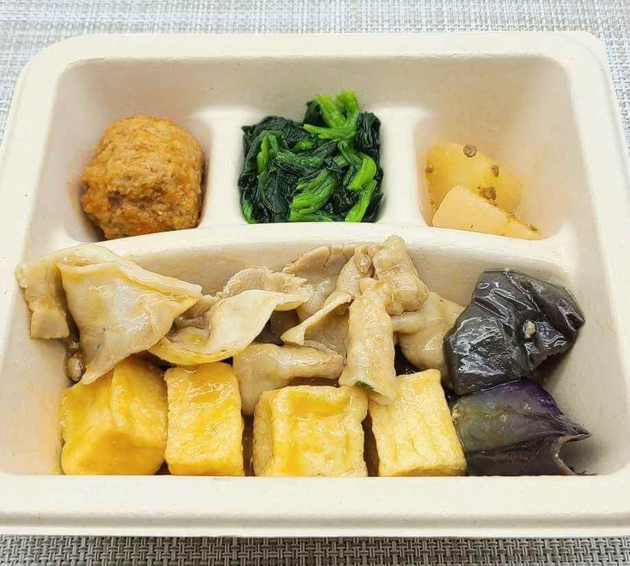 nosh-ナッシュの口コミ&評判・美味しいという口コミ「豚肉と絹揚げ豆腐の中華あん」