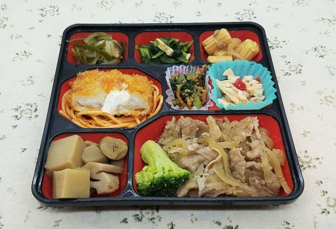 東京のコープの宅配弁当・コープデリ・舞菜御膳