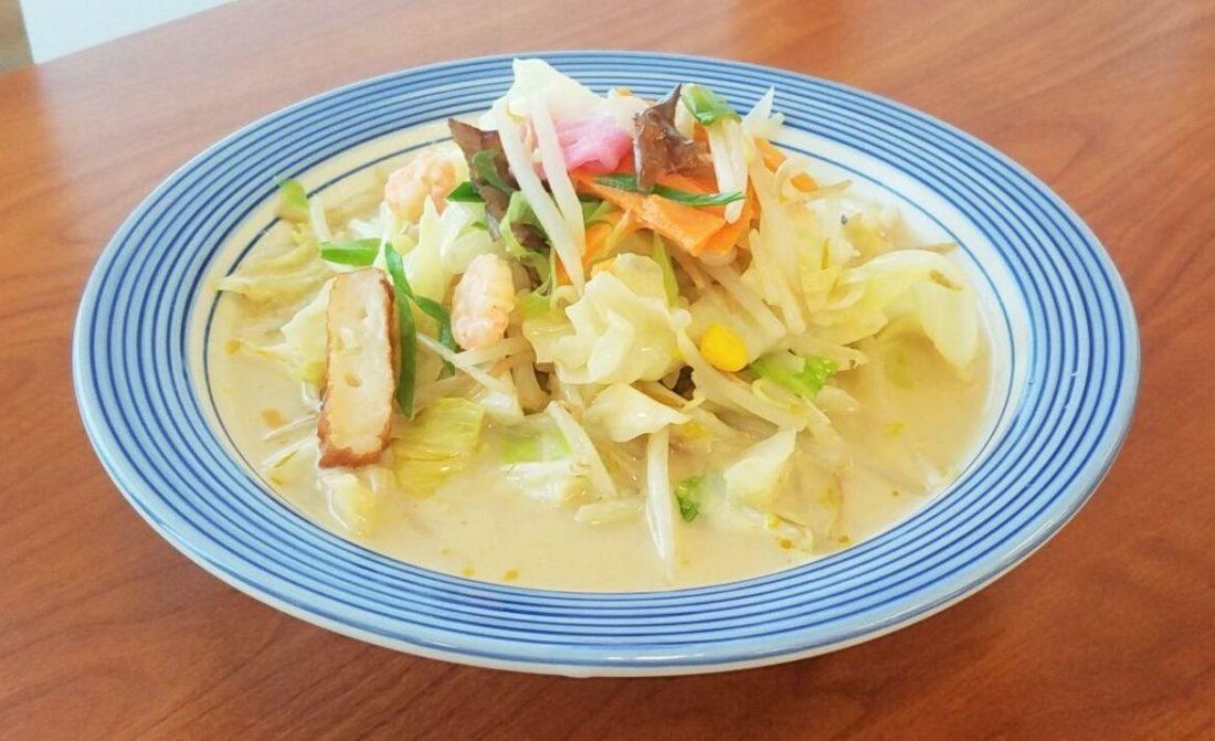 リンガーハットのダイエット最適メニュー・野菜たっぷりちゃんぽんミドルサイズ