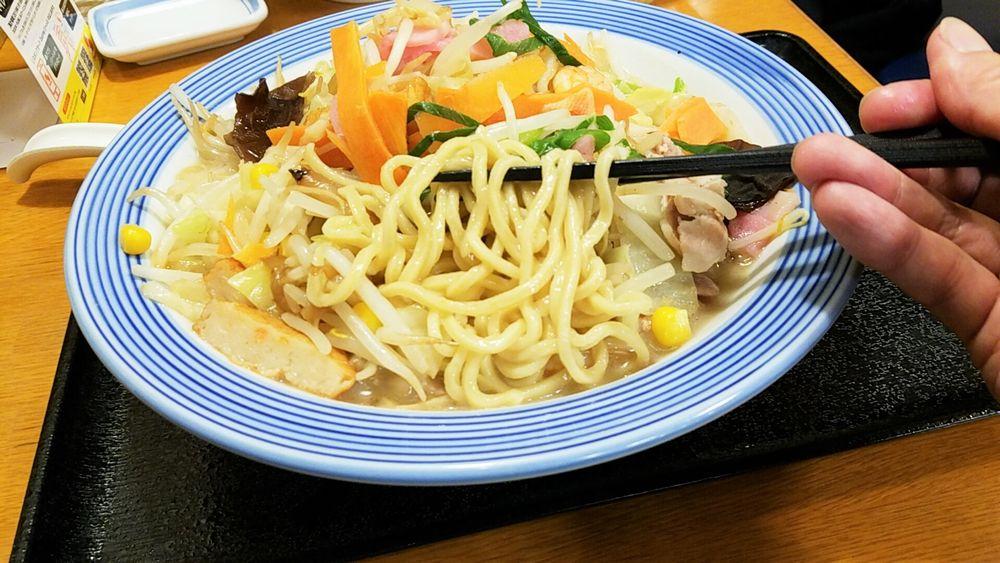 リンガーハットのダイエットメニュー・低糖質麺